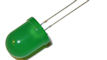 10mm Groene Knipper LED