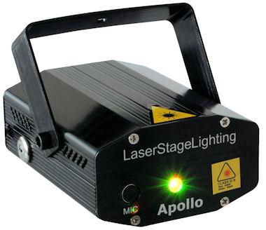 Apollo Laser - Rood en Groen