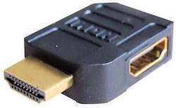 HDMI Zijdelings Hoekstukje