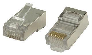 RJ45 Plug- CAT6- Stranded- FTP