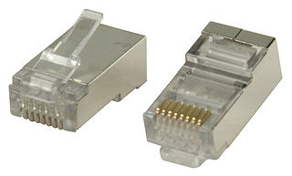 RJ45 Plug- CAT6- Solid- FTP