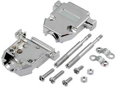 Metalen D-Connector Kapje
