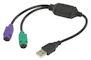 USB - PS2 Verloop Stekker