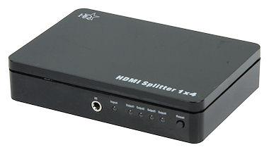 4-Weg HDMI Verdeler- HiSpeed