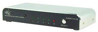 4-Weg HDMI Schakelaar + AB