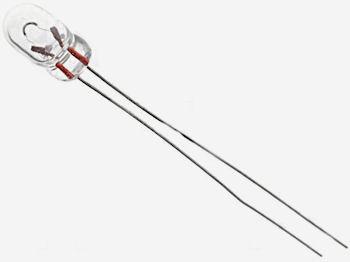 Miniatuur Draadlampje 6V-40mA