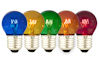 Gekleurde Kogellampen -5 stuks