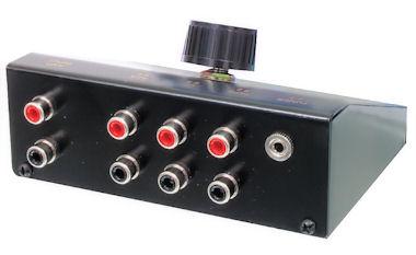4-weg audio Schakelaar