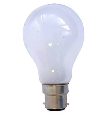 Lamp met B22d fitting- 42 Volt