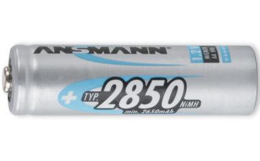1 Ansmann Accu AA - 2850mAh