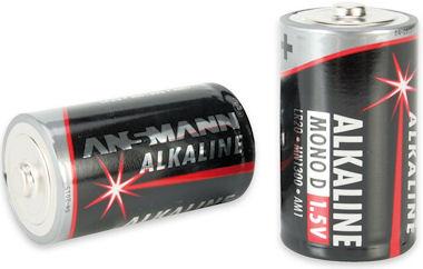Ansmann Alkaline Batterij- R20