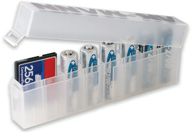 Bewaarbox voor 8 batterijen
