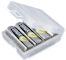 Bewaarbox voor 4 batterijen