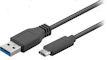 USB A <> USB Type-C - 100cm