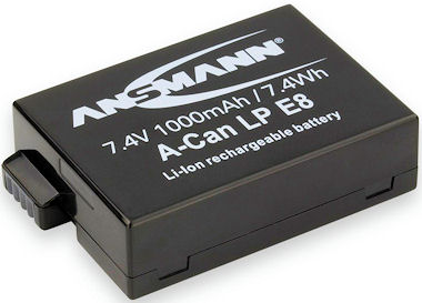 LP-E8 Accu - 5 Jaar garantie !
