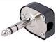 Jackplug 6,3mm - Schroefaansl.