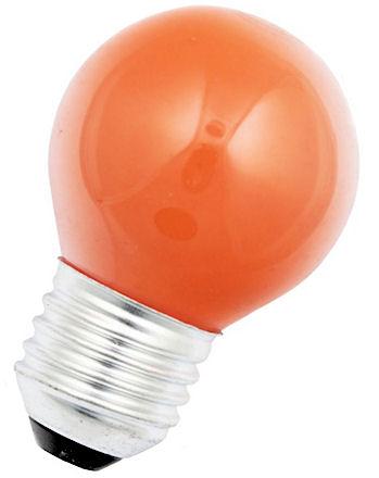 LED Kogellamp - E27 - Oranje
