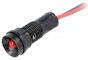 LED Signaallamje 12V Rood