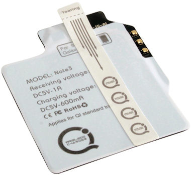 Galaxy Note 3 Qi receiver