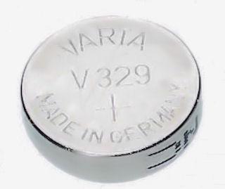 Horlogebatterij Varta V329