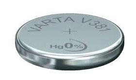 Horlogebatterij Varta V381