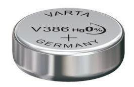 Horlogebatterij Varta V386