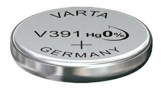 Horlogebatterij Varta V391