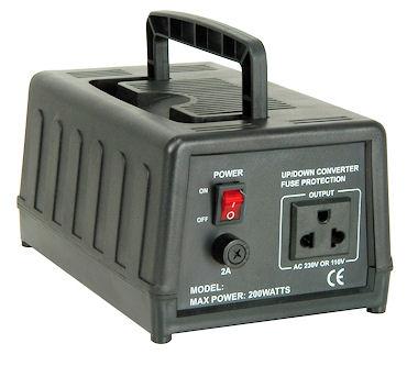 Omvormer 230V-> 110V- 200W