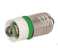 Groene LED met E10 Fitting