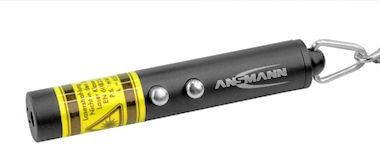Ansmann 2-in-1 Laserpointer