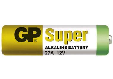 12V Alkaline Batterij GP27A