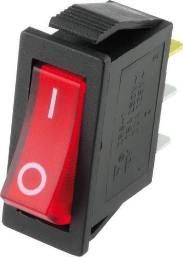 Wipschakelaar - Rood verlicht