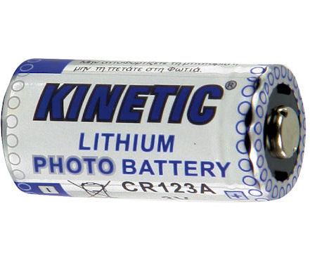 CR123A - 3 V batterij