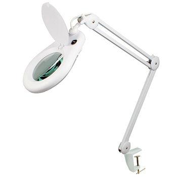 Loeplamp met tafelklem