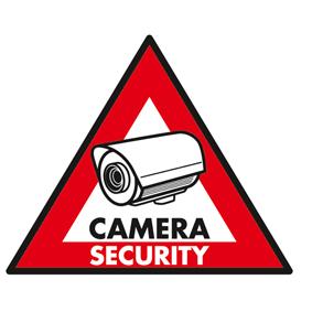 Sticker camera security