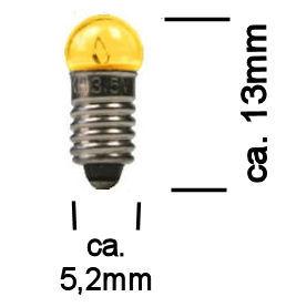 Modelbouw Lampje 3,5V Geel