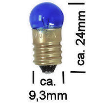 Blauw Lampje 3,5V