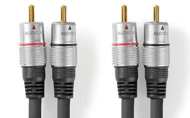 Professionele Audio Kabel 2,5m