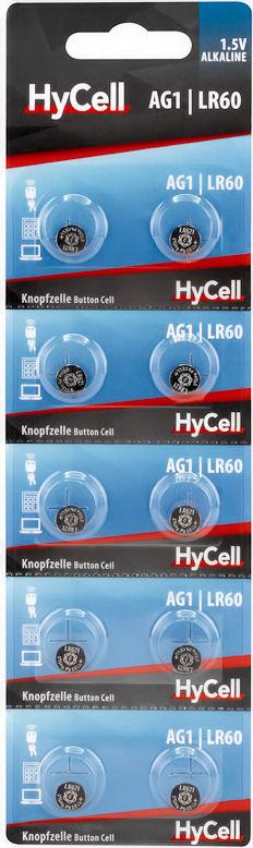 Batterij LR60 - AG1 - LR621
