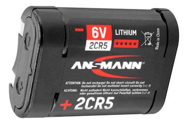 6V Foto Batterij 2CR5 -Ansmann