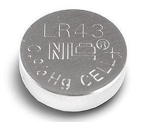 LR43 Horlogebatterij