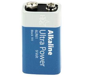 9 Volt Alkaline Batterij