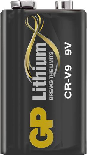9 Volt Batterij - Lithium CRV9