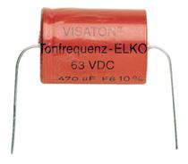 Bipolaire Elco 100uF-63V