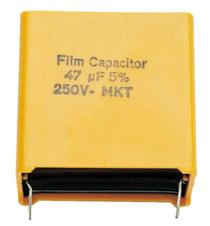 Condensator Visaton 47u MKT